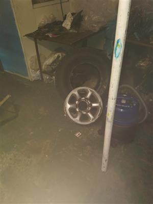 Rim with Tyre for sale.