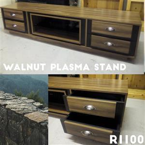 Wallnut plasma stand
