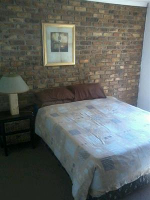 Furnished Room in Boksburg Townhouse to Rent