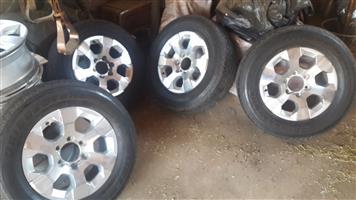 """Chevrolet Mags and Bridgestone Tyres ( 255 x 65 x 17"""")"""