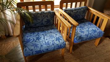 OAK MORRIS CHAIRS