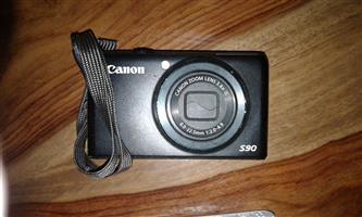 1 x S90 Canon Camera  1 x SX610HS Canon Camera