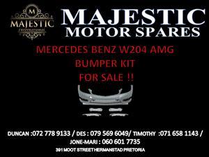 Mercedes Benz w204 amg bumper kit