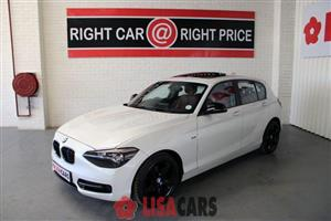 2012 BMW 1 Series 116i 5 door Sport