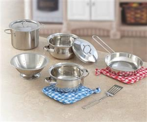 10-pc Stainless Steel Set