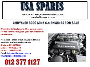 CHRYSLER 300C MK2 6.4 GEARBOX FOR SALE