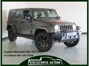 2015 Jeep Wrangler Unlimited 2.8CRD Sahara