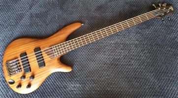 Used, Ibanez SDGR SR1015 - 5 String Bass Guitar - Made in Japan for sale  George