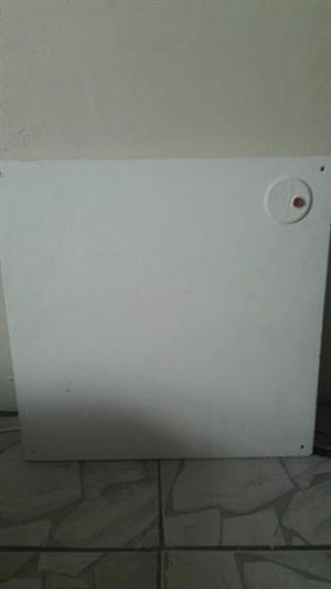 Panel heater,