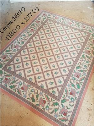 White victorian carpet for sale