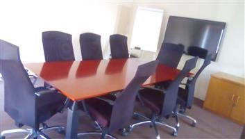 OFFICES, Meeting rooms, Training Room, BOARDROOM TO RENT IN BOKSBURG Main Street:Leeuwpoort.