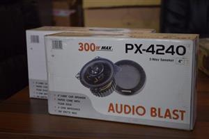 Audio blast car speaker