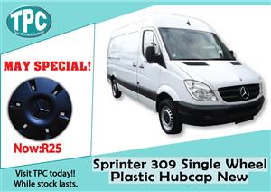 Mercedes Benz Sprinter 309 Single Wheel Plastic Hubcap  New For Sale at TPC