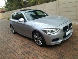2012 BMW 1 Series 5-door 118i M SPORT A/T (F40)