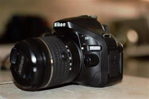 Nikon D5200 with 16Gb SD Card