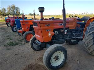 Massey,  John Deere,  Landini,  Ford , Fiat, Leyland and Fordson Dexta  Tractors  available. FROM: R39,000