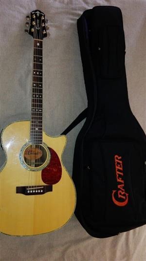 guitar (crafter TC035N)