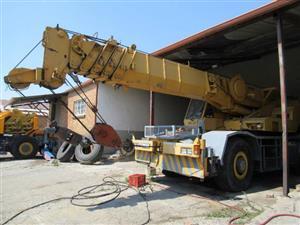 Tadano TR500M-2, 50 Ton Mobile Crane