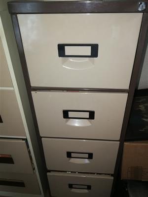 Steel filing cabinet for sale