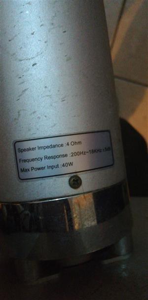Speakers tall boys