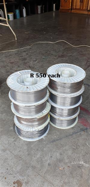 15 kg Rolls of Welding Wire (0.8mm SS...1.2mm SS and  1.6mm SS) EACH R550