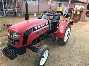 Tractor Foton-250 for sale. - R 75.000.  - NEGOTIABLE