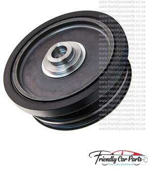 BMW E46 E87 E60 320D 2.0D 2001-2005 Face Lift M47N20 Crankshaft Crank Vibration Damper Pulley 40mm-