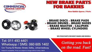 bakkie brake parts new