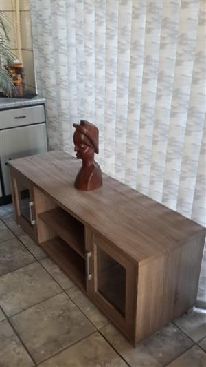 Melamine Rustic oak TV unit