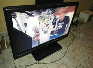 "Sinotec 42"" LCD tv cracked screen"