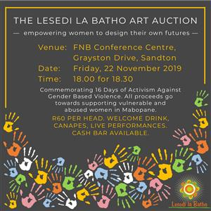 The Lesedi la Batho Art Auction