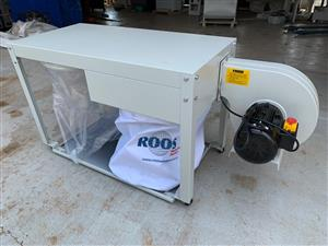 Dust Extraction Unit, FLAT22  Short Bag Dust Collector to use below machine table