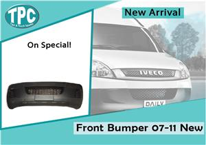 Iveco Daily  New Front Bumper 07-11 For Sale at TPC