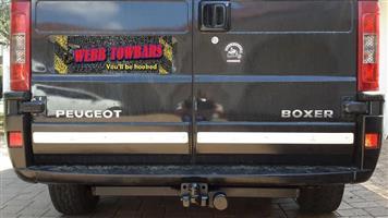 Peugeot Standard/Detachable Towbars, Double Tube & Step Towbars