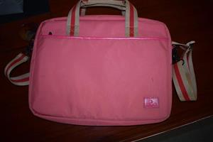 Pink baby bag for sale