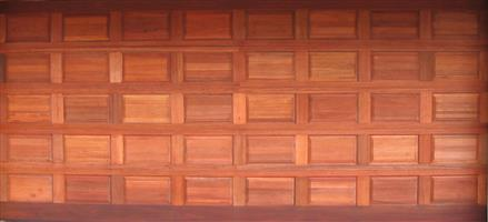Garage Door - WOODEN DOOR DOUBLE