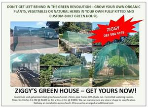 Ziggy's green house