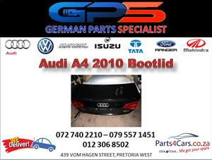 Audi A4 2010 Bootlid for Sale