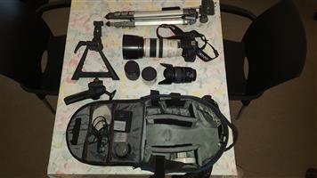 Canon Kit plus accessories