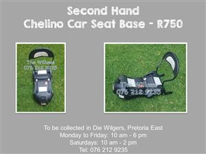 Second Hand Chelino Car Seat Base