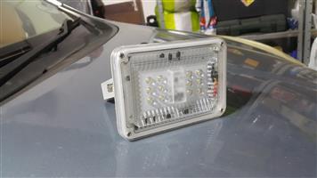 Solar flood light with Japanese LED