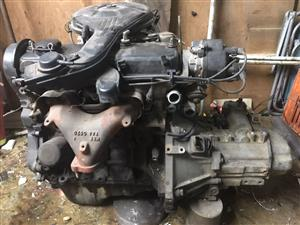 Toyota Tazz 2E 1300 engine and 5spd M/T