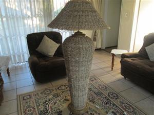 Wicker lamp for sale
