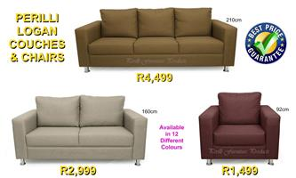 ​​PERILLI LOGAN Couches & Chairs. From R1,499.