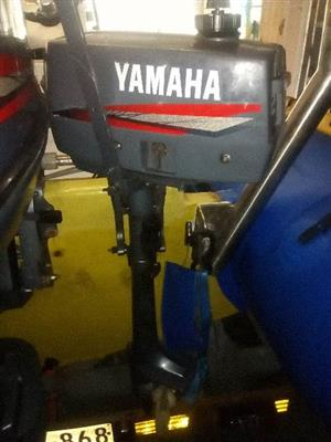 2HP YAMAHA OUTBOARD MOTOR FOR SALE | Junk Mail