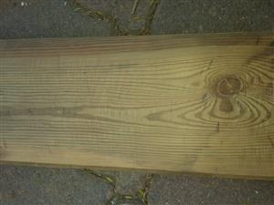 Oregon pine vloerplanke