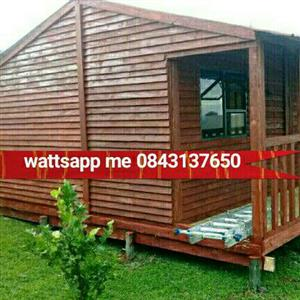 6x6 long cabin