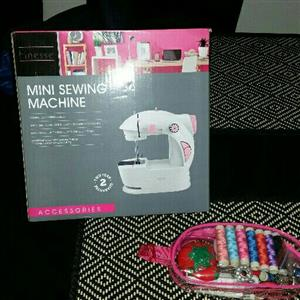 little girls sewing machine