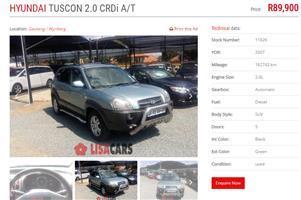 2007 Hyundai Tucson 2.0 Premium auto