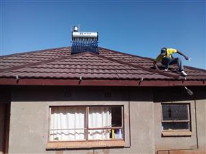 Plumbing and solar geysers installation
